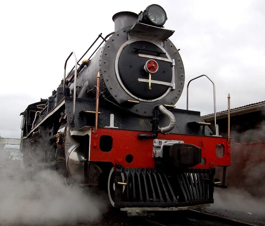 The Blue Train of Pretoria, South Africa